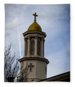 Church Steeple Nashville Fleece Blanket