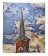 Church Steeple Fleece Blanket