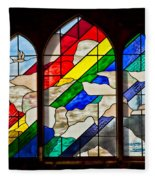 Church Window Fleece Blanket