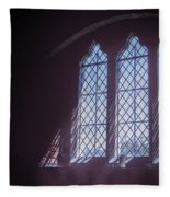 Church Window Fleece Blanket