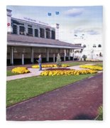 Churchill Downs Paddock Area Fleece Blanket