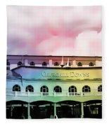 Churchill Downs Silk Fleece Blanket