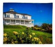 Churchill Mansion Inn Fleece Blanket