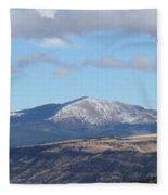 Cibola Mountains Fleece Blanket