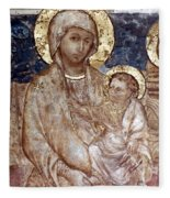 Cimabue: Madonna Fleece Blanket