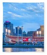 Cincinnati All Star Game  Fleece Blanket