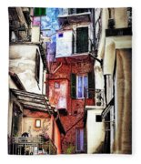 Cinque Terre All'aperto Fleece Blanket