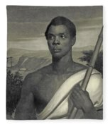 Cinque, The Chief Of The Amistad Captives Fleece Blanket