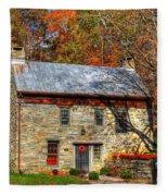 Circa 1776 Stone House Fleece Blanket