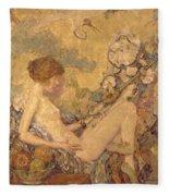 Circe And Anatol 1926 Fleece Blanket