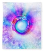 Circle Eye  Fleece Blanket
