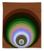 Circle II Fleece Blanket