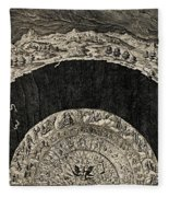 Circles Of Hell And Limbo, Jan Wierix Fleece Blanket