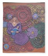 Circulo Mother And Child Fleece Blanket