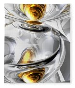Circumvoluted Abstract Fleece Blanket