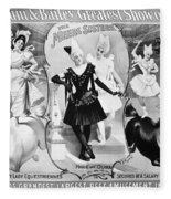 Circus Poster, 1895 Fleece Blanket