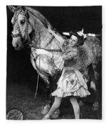 Circus: Rider, C1908 Fleece Blanket