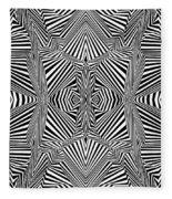 Circus Stripes Fleece Blanket
