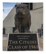 Citadel Bulldog Fleece Blanket