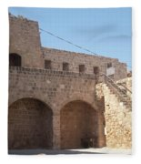 Citadel In Akko Fleece Blanket