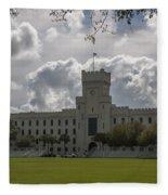Citadel Military College Fleece Blanket