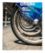 Citibike Manhattan Fleece Blanket