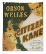 Citizen Kane - Orson Welles Fleece Blanket