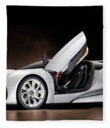 Citroen Supercar Concept Fleece Blanket