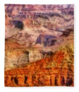City - Arizona - Grand Canyon - Kabob Trail Fleece Blanket