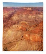 City - Arizona - Grand Canyon - The Great Grand View Fleece Blanket