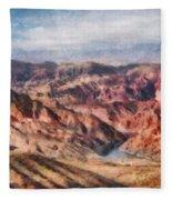 City - Arizona - Grand Hills Fleece Blanket