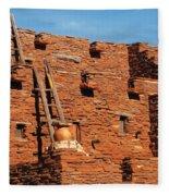 City - Arizona - Pueblo Fleece Blanket
