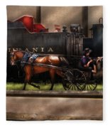 City - Lancaster Pa - You Got To Love Lancaster Fleece Blanket