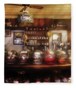City - Ny 77 Water Street - The Candy Store Fleece Blanket