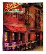 City - Vegas - The Pizza Joint Fleece Blanket