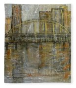 City Bridge Fleece Blanket
