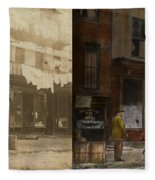 City - Elegant Apartments - 1912 - Side By Side Fleece Blanket