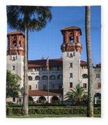 City Hall And Lightner Museum Fleece Blanket