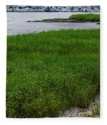 City Marina Marsh View Fleece Blanket