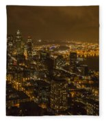 City Night Fleece Blanket