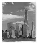 City - Ny - The Shades Of A City Fleece Blanket