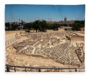 City Of King David Fleece Blanket