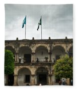 City Square Antigua Guatemala Fleece Blanket