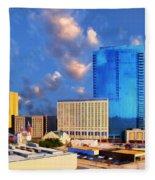 Cityscape 2 Fleece Blanket