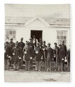 Civil War: Band, 1865 Fleece Blanket