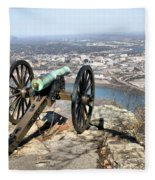 Civil War Cannon Fleece Blanket