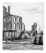 Civil War: Fall Of Richmond Fleece Blanket