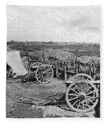 Civil War: Fortifications Fleece Blanket