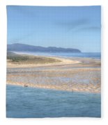 Clam Digging Morning 0200 Fleece Blanket