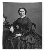 Clara Barton (1821-1912) Fleece Blanket